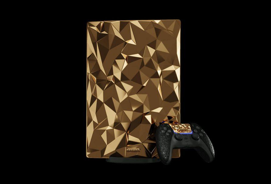 Δείτε το ολόχρυσο PlayStation 5 που (κατά πάσα πιθανότητα) θα αγοράσει μόνο… ο Εμίρης του Κατάρ!