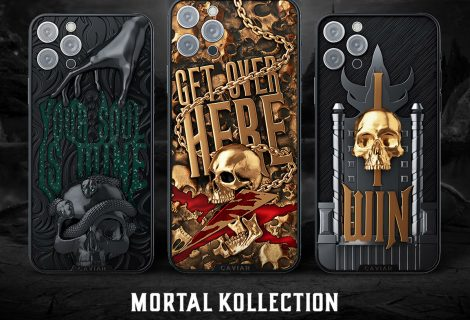 iPhone 12 με την σφραγίδα της Caviar εμπνευσμένα από το Mortal Kombat! FATALITY στην τσέπη, αλλά έχουν πλάκα!