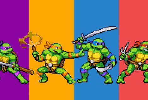 Teenage Mutant Ninja Turtles are... back! Ετοιμαστείτε για ατελείωτο old-school retro ξύλο!