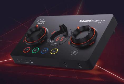 Creative Sound Blaster GC7: Premium gaming DAC για εντυπωσιακές επιδόσεις!