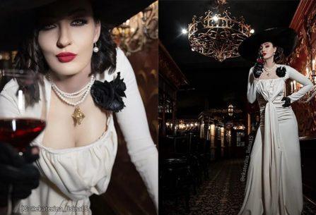 "H δίμετρη Ekaterina Lisina ""είναι"" η Lady Dimitrescu, σε ένα ονειρεμένο cosplay!"