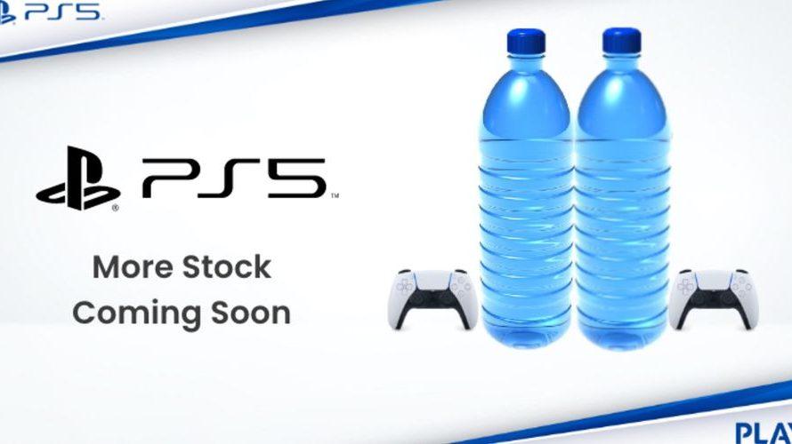 """Υπέρτατο fail! Scalper κάνει """"πλάκα"""" σε gamer και αντί για PS5, του στέλνει δύο μπουκάλια νερό!"""